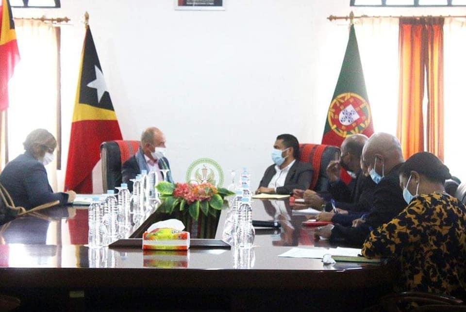SEJD ho Embaixador Portugal Iha Timor-Leste Koalia Kooperasaun iha Area Juventude no Desportu