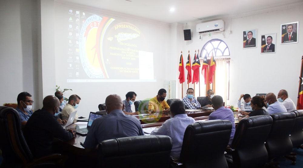 SEJD, CONTL no CDTL Deskute Timor-Leste nia Partisipasaun iha Olympic Games no SEA Games 2021