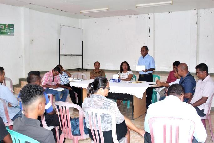 KRAM organiza inkontru ho memberu grupu Artemarsial iha RAEOA
