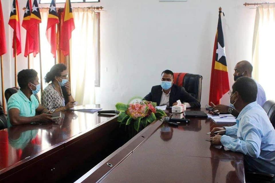 S.E Abrao Saldanha Hasoru Malu ho Adjunta Reprezentante Rezidente UNDP Nian Iha Timor Leste