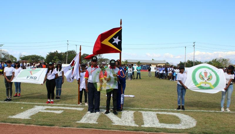 FESTIVAL NASIONAL DESPORTU (FND) 2019 MUNISIPIU BAUCAU - (Ada 0 foto)